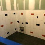 Tilework for the new Children's Bathrooms