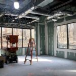 Play Space with floors and sheetrock